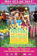 Randolph Street Market 10th Annual Garden Party Season Opener