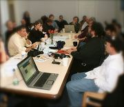 Boston Media Makers monthly meeting
