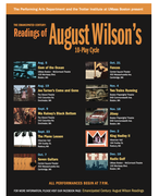 """""""The Emancipated Century,"""" free readings August Wilson's plays."""