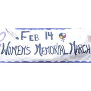 Feb 14th Annual Womens Memorial March