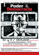 PRIMERAS JORNADAS DE FILOSOFÍA POLÍTICA