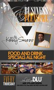 It's the RETURN of the PATIO PARTY - Business and Pleasue Social with Kenny Smoov at Lucy Blu