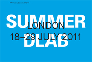 AA Summer DLAB //18-29 July // Architectural Association, London