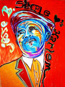 "Artists Reception for ""A Tribute to Langston Hughes"""