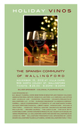 SCOW Holiday Vinos Wine Tasting