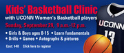 UCONN Women Kid's Basketball Clinic