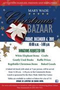 Mary Wade Christmas Bazaar