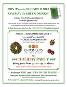New Haven Green Drinks Holiday Party!