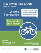 New Haven Bike Share: Public Meeting #1