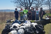 Clean up at Long Wharf Nature Preserve
