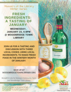 Fresh Ingredients: A Tasting of January