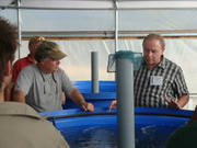 Nelson and Pade, Inc Aquaponics Controlled Environment Workshop with Dr. James Rakocy as Special Guest