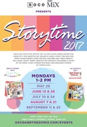 Story Time at Chuck Jones Center for Creativity at SOCO and The OC Mix