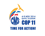 Logo of 11th Meeting of the CMS Conference of the Parties Released