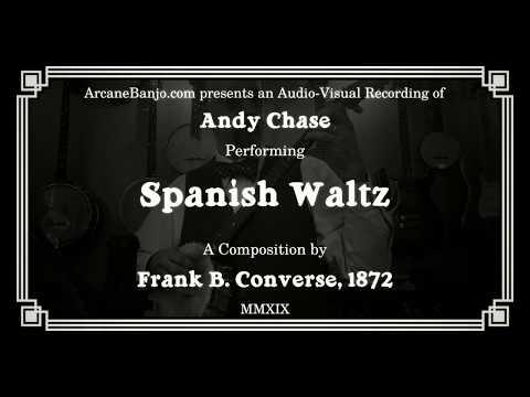 Spanish Waltz (Fingerstyle banjo, 1872)