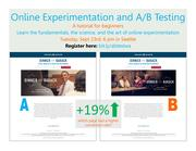 Introduction to Online Experimentation and A/B Testing