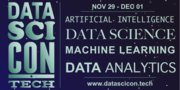 DataSciCon.Tech - Data Science Data Analytics Machine Learning Big Data Conference