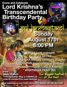Come Celebrate Lord Krishna's Birthday Party - Janmastami!