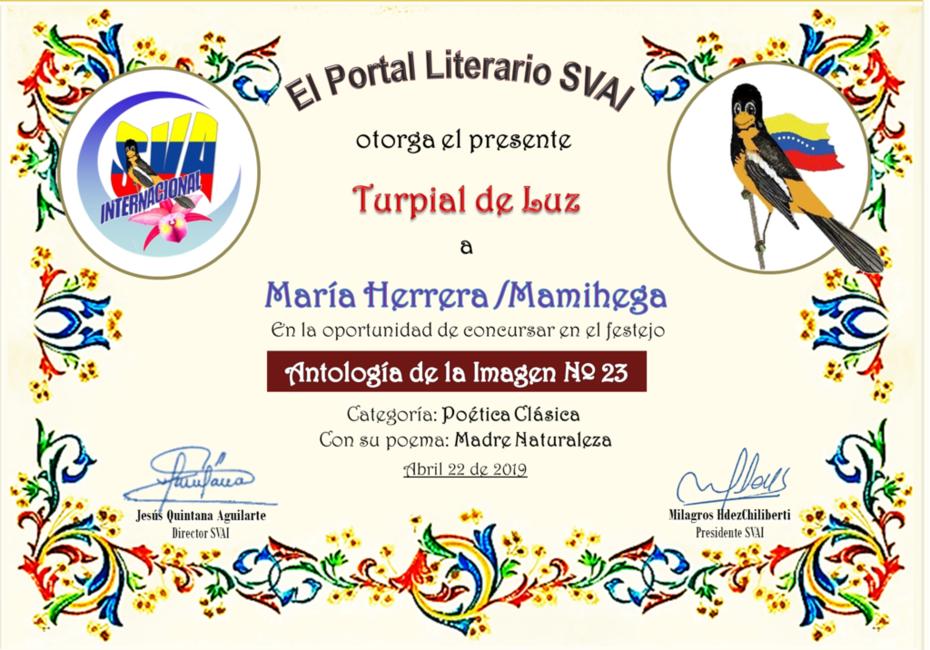 MARÍA HERRERA- MAMIHEGA