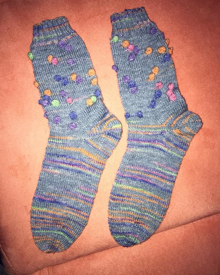 Opal Relief Socken