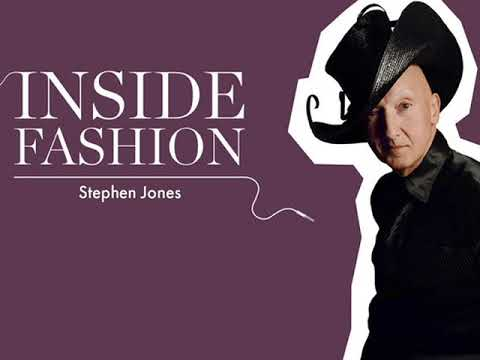 Stephen Jones on the Craft of Millinery Podcast