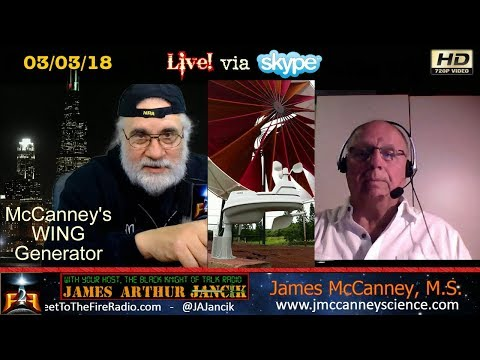 F2F Radio - The WING Generator & James McCanney