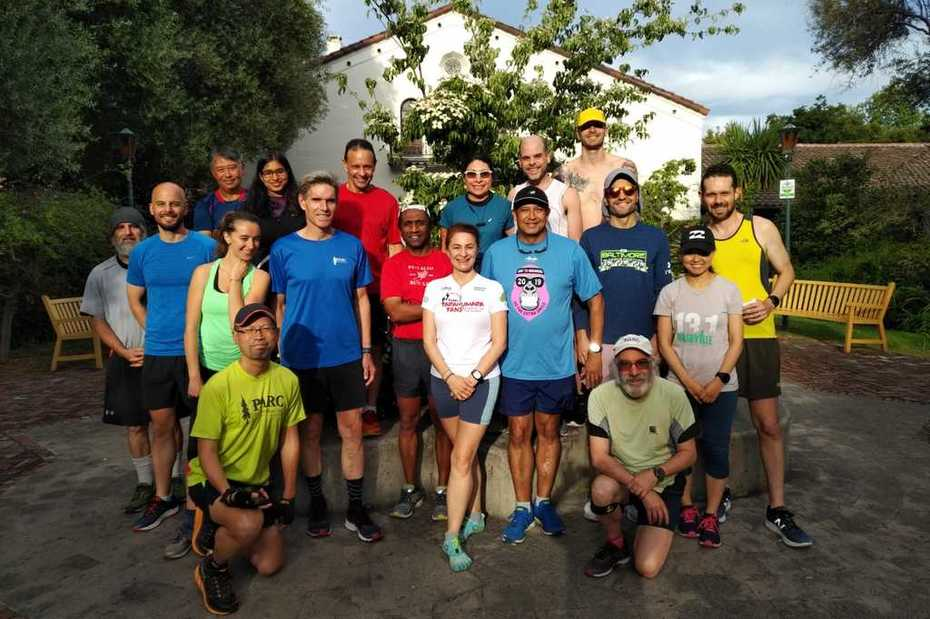 Palo Alto Run Club Group Photo