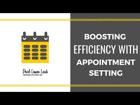 Why Appointment Setting Is So Important | Lead Generation Agency | Pearl Lemon Leads