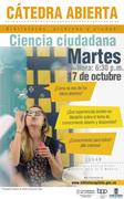 """Cátedra: """"Ciencia abierta, ciencia ciudadana y bibliotecas"""". Biblioteca Pública Piloto - EIB UdeA. (Medellín-Colombia)"""