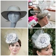 Grey Reworked Button Hat Collage