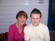 Tom Mcgreevy's Son James with June Brown (Dot)