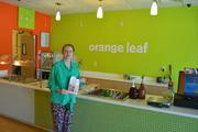 Orange Leaf book signing 2-20-16