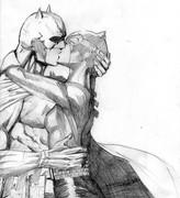 batman+catwoman kiss