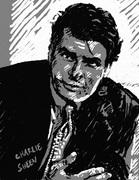 Charlie Sheen Snabbporträtt