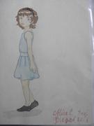 Flickan i blå