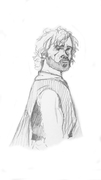 Tyrion Lannister skiss
