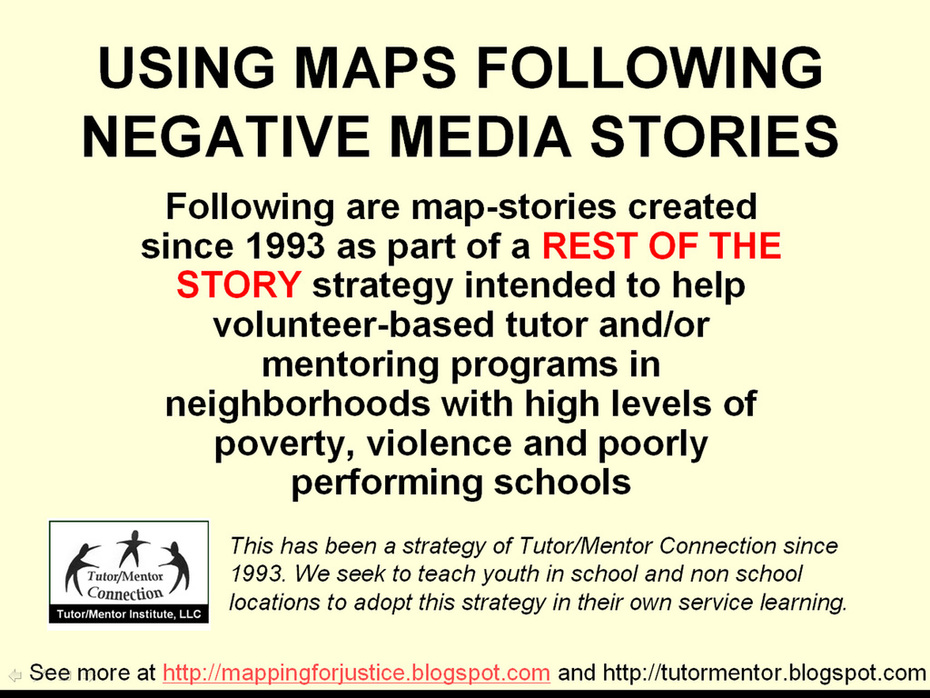 Follow Negative News with Map Stories
