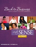 Back to Business - SistaSense Magazine Oct Issue + Webinar Conference Replays
