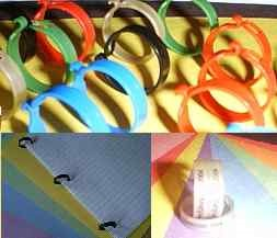 Color Paper rings