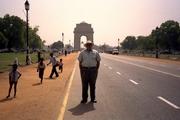 Riaz Haq at India Gate