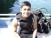 Scuba Diving, Its fun to feed fish with own hands!