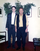 Greg Fishman with Stan Getz at Carnegie Hall