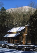 Cades Cabin Snow0001