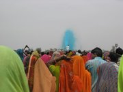 Jaipur India 2009 Prem Rawat plays Holi