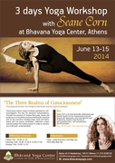 Yoga workshop with Seane Corn in Athens