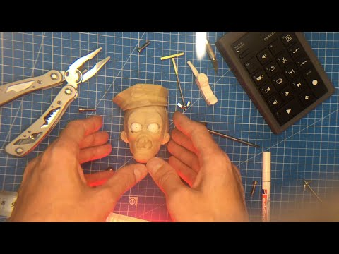 Face 3D Print Test For Lip sync - StopMotion