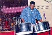 A Master Steelpan Player-Tuner.