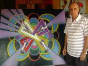 O Artista e sua obra O Triangulo Branco