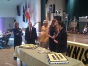 Dennis Kucinich's birthday party
