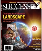 United First Financial on the cover of Success From Home magazine